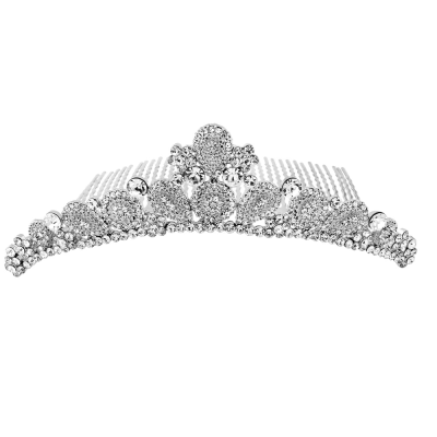 Swarovski Collection - Luxe Embellished Tiara Comb - S-Tiara 3