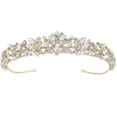 Corinne Luxe Tiara 14k GOLD - (Tiara 6A) SASSB