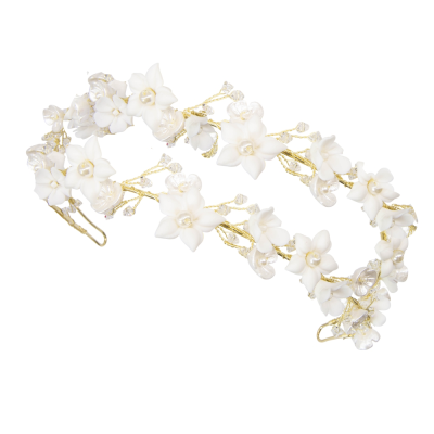 ATHENA COLLECTION - ETERNALLY CHIC HEADBAND - AHB78 18K GOLD PLATED