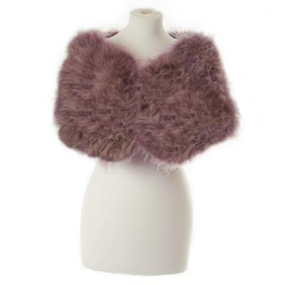 Marabou Feather Wrap - Dusky Pink (SG5)