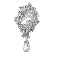 ATHENA COLLECTION - CHIC VINTAGE CHARM BROOCH - (BROOCH 160)