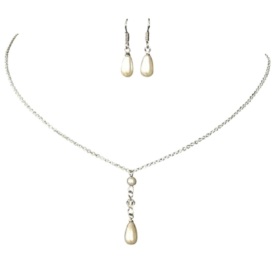 ATHENA COLLECTION  - Simply Chic Pearl Necklace Set - NK136