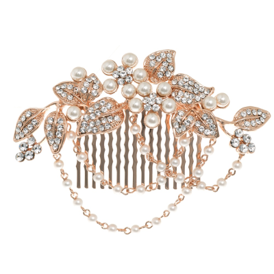 ELITE COLLECTION - PEARL ROMANCE COMB - HC205 ROSE GOLD