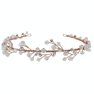ELIZA - VINTAGE GARLAND HEADBAND - SASSB (ROSE GOLD)