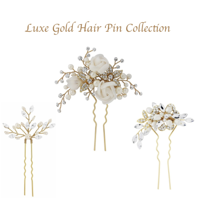 Luxe Gold Pin Collection