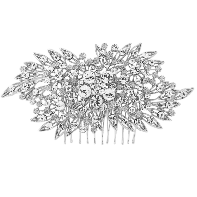 ELITE COLLECTION - Classic Extravagance Hair comb - Crystal (HCb)