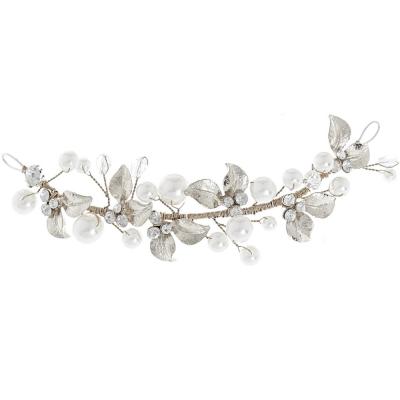 Mini Luxe Hair vine - Silver