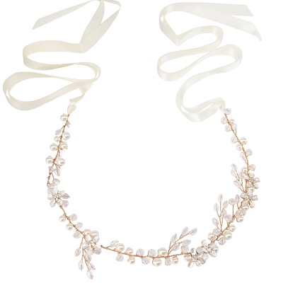 ATHENA COLLECTION - DELICATE DECO HAIR VINE - HP190 ROSE GOLD