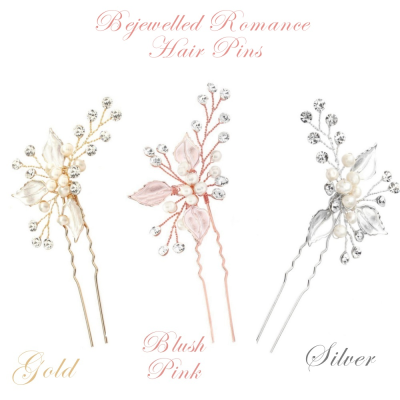 ATHENA COLLECTION - BEJEWELLED ROMANCE HAIR PIN COLLECTION