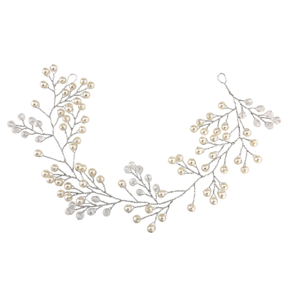 ATHENA COLLECTION - MINI PEARL EMBELLISHED HAIRVINE - (HP139)