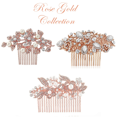 Rose Gold Comb Collection