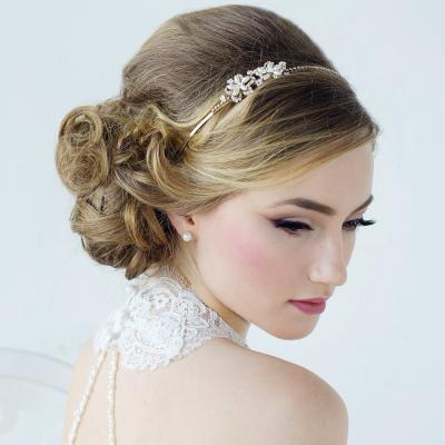 Aimee - Sweet vintage Headband - 14k GOLD SASSB