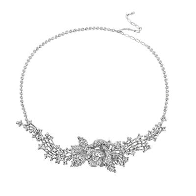 SASSB COLLECTION - Crystal Rose Headpiece HP131
