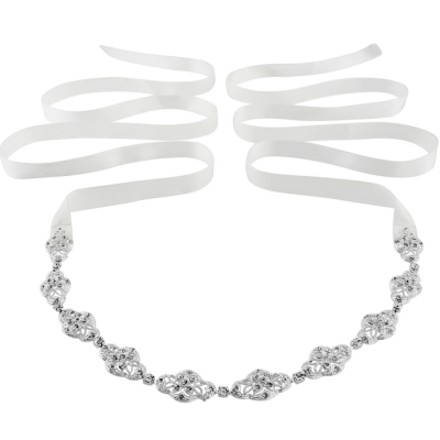 SASSB COLLECTION - CELINE-  CRYSTAL CHIC HEADPIECE - SASSB