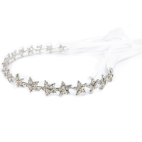 ATHENA COLLECTION - CRYSTAL STAR VINE - HP193 SILVER