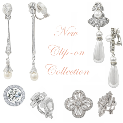 CZ COLLECTION - VINTAGE INSPIRED CLIP-ON COLLECTION