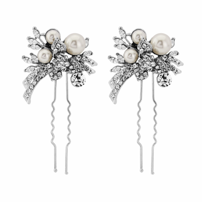 ELITE Extravagance Hair Pins - Pearl (Pin 24)