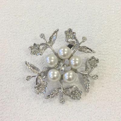 Vintage brooch - silver