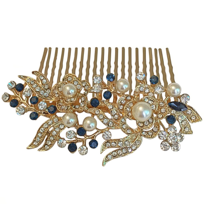 GLAM GATSBY STYLE COMB - (GOLD) HC151