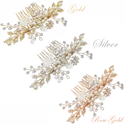 ATHENA COLLECTION - ETERNALLY PEARL HAIR COMB COLLECTION