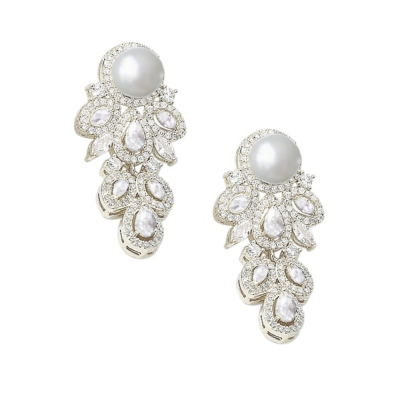 CUBIC ZIRCONIA COLLECTION - STARLET ALLURE EARRINGS - CZER512