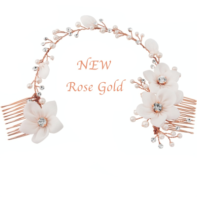 ANAIS BOHEMIAN CHIC HEADPIECE - ROSE GOLD - SASSB RG