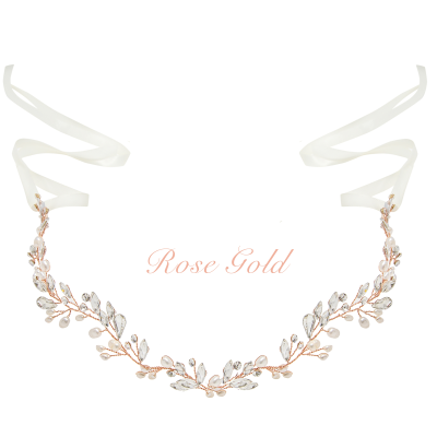 ATHENA COLLECTION - CHIC PEARL VINE  - HP171 - ROSE GOLD