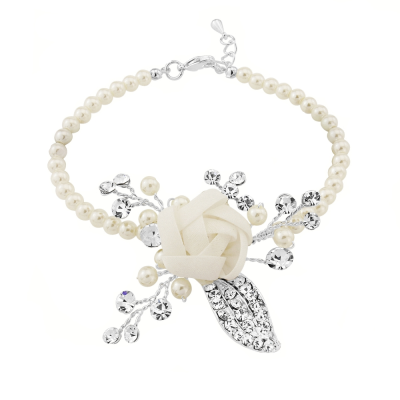 SASSB COLLECTION -CLARA PEARL  BRACELET - BR19