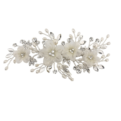 SASSB COLLECTION - CARRIE FLORAL ROMANTIC HEADPIECE - SASSB (Hc27)