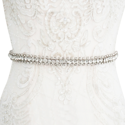 ATHENA COLLECTION - CRYTAL CHIC WEDDING BELT 28