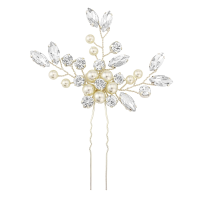 ATHENA COLLECTION - FLORAL CLUSTER HAIR PIN - PIN32