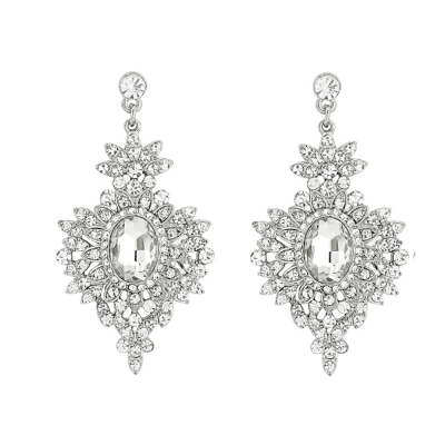 ATHENA Collection - Crystal  Statement Earrings - ER143