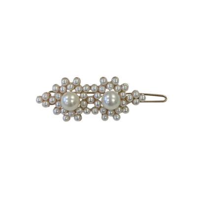 ATHENA COLLECTION - PEARL CLUSTER CLIP - GOLD (CLIP 752)