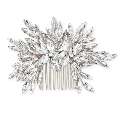 ATHENA COLLECTION - SPARKLE COMB - SILVER (HC158)