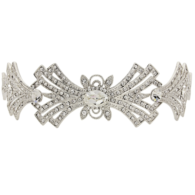 ELITE COLLECTION - Crystal Embellished Tiara - Tiara 11