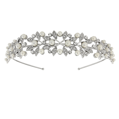 Athena Collection - Vintage Inspired Pearl Headband - HB405