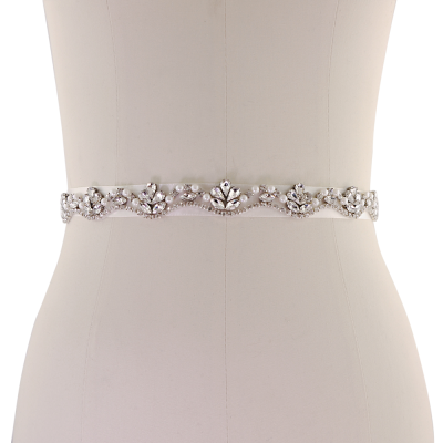 ATHENA COLLECTION - STARLET BRIDAL BELT - BELT 18 - IVORY