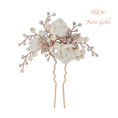 FREYA LUXE HAIR PIN - ROSE GOLD - SASSB HP5 (RG)