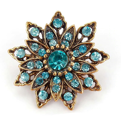 ATHENA COLLECTION - GLAM BROOCH - BROOCH 16