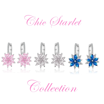 CUBIC ZIRCONIA COLLECTION - CHIC STARLET COLLECTION
