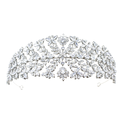 CUBIC ZIRCONIA COLLECTION - GRACEFUL ELEGANCE HEADPIECE - AHB69
