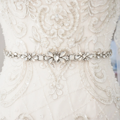 ATHENA COLLECTION - SIMPLY CHIC BRIDAL BELT - BELT 33