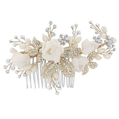 Freya Luxe Hair Comb (Gold) - SassB HC22