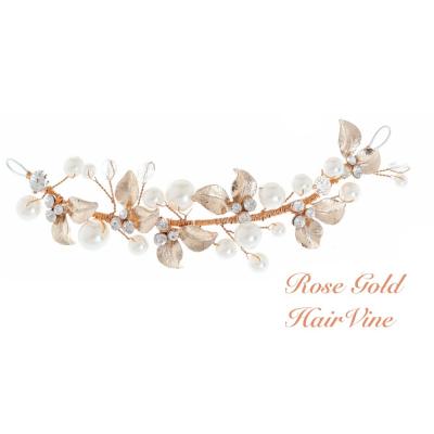 Mini Luxe Hair vine - Rose Gold