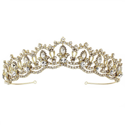SASSB COLLECTION - JEWEL TIARA - 14K GOLD