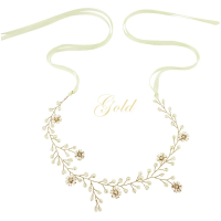 ATHENA COLLECTION - FLORAL ROMANCE HAIRVINE -HP135 GOLD
