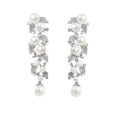 Starlet Pearl Earrings - Clear (ER78)