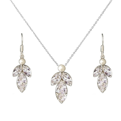 SASSB COLLECTION - DAINTY DROP NECKLACE SET  - SASSB (NK140)