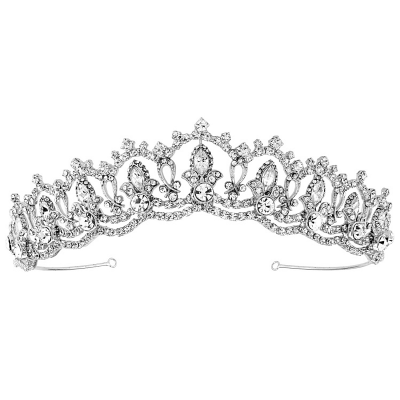 SASSB COLLECTION - JEWEL TIARA - SILVER