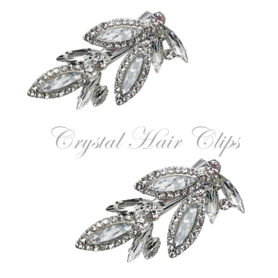 ATHENA COLLECTION - BEJEWELLED SPARKLE CLIPS - CLIP 732
